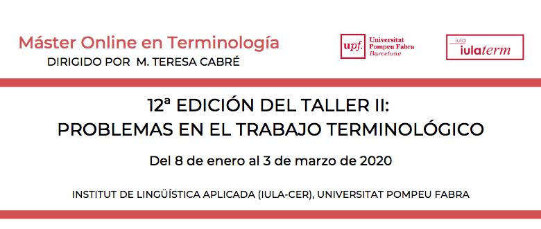 Taller terminología iula