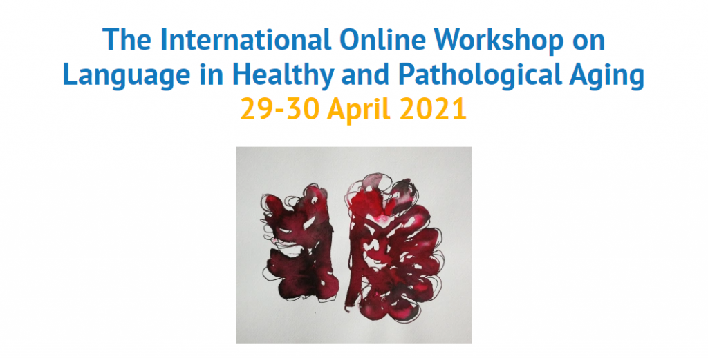 IMG The International Online Workshop on Language in Healthy and Pathological Aging