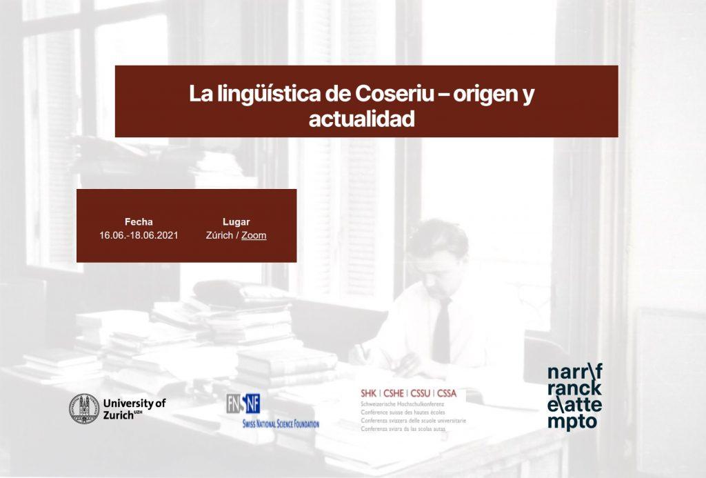 """Clausura del Congreso Internacional """"La lingüística de Coseriu – Origen y actualidad"""" (COSERIU100)"""