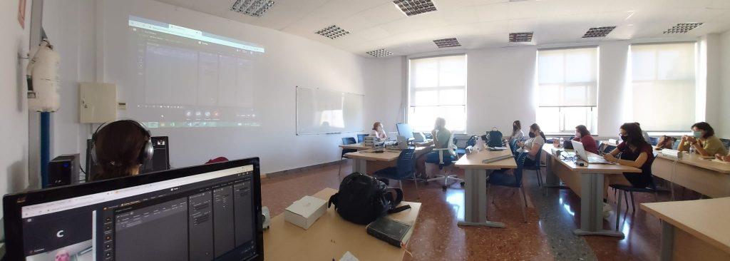 Curso formativo para la puesta en funcionamiento del equipo de registro ocular Tobii Pro de la Unidad de Lingüística Experimental del ILA